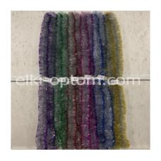Мишура s-13 (9 см, 6 цветов, 150 шт) оптом