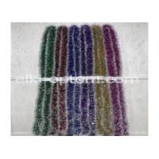 Мишура s-15 (9 см, 6 цветов, 150 шт) оптом