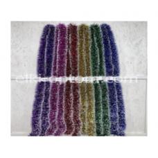 Мишура s-16 (9 см, 6 цветов, 150 шт) оптом