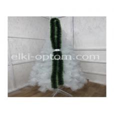 Мишура s-18 (9 см, 1 цвет зеленый, 150 шт) оптом