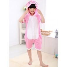 Кигуруми летний для детей Стич розовый оптом
