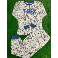 Пижама тонкая «T-REX» 4 шт в уп (9-12) оптом