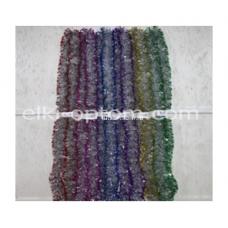 Мишура s-21 (9 см, 6 цветов, 150 шт) оптом