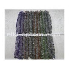 Мишура s-22 (9 см, 6 цветов, 150 шт) оптом