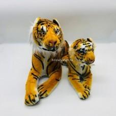 """Мягкая игрушка """"Тигр"""" лежачий 28 см оптом"""