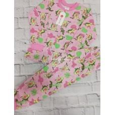 Пижама тёплая «Авокадо» 4 шт в уп (1-4) оптом