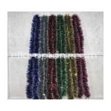 Мишура s-23 (9 см, 6 цветов, 150 шт) оптом