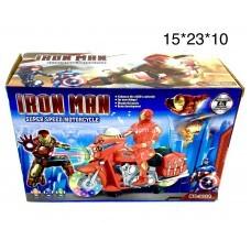 Супергерой на мотоцикле (свет, звук) (арт. 303/303A) оптом