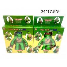 Черепашки Ниндзя тянучки-антистресс (арт. S75) оптом