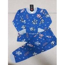 Пижама теплая «Роботы» 4 шт в уп (1-4) оптом