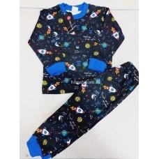 Пижама теплая «Космос» 4 шт в уп (1-4) оптом