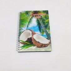 Блокнот с деревянной обложкой размер 20*15 см Кокосовый рай в ассортименте оптом