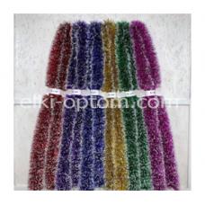 Мишура s-05 (12 см, 6 цветов, 120 шт) оптом