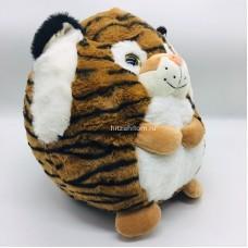 "Мягкая игрушка ""Тигр кругляш"" 33 см (арт. 1-4925-33) оптом"
