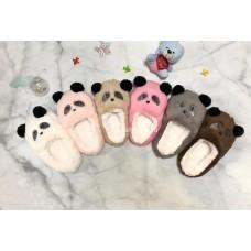 Аксессуары меховые Панды короткие детские (12 шт/уп) (арт C-016) оптом