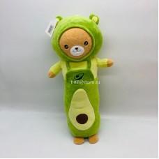 """Мягкая игрушка """"Зоопарк"""" овощной Мишка авокадо 50 см оптом"""