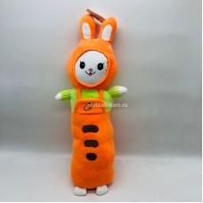 """Мягкая игрушка """"Зоопарк"""" овощной Зайчик морковка 50 см оптом"""