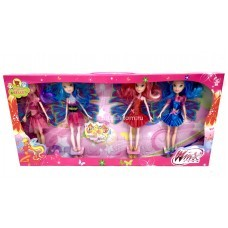 Куклы феи 4 шт. в уп (арт. 38002) оптом