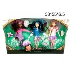 Куклы 3 шт. в уп (арт. 662-3) оптом