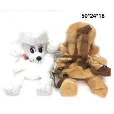 Рюкзак мягкий Собачки 12 шт. в уп (арт. JC17201) оптом