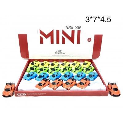 Машинки мини 24 шт. в уп (арт. 2220-2) оптом