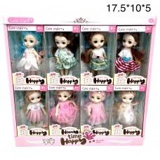 Кукла Lovely doll 8 шт в уп (арт. 1910A2) оптом