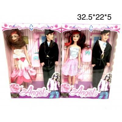 Кукла с парнем (арт. 6688A-1) оптом