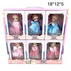 Кукла Sweet girl 6 шт в уп (арт. DX537A) оптом