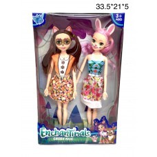 Зачарованные куклы, Набор 2 героя (арт. XF826B) оптом