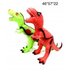 Динозавр резиновый (звук) (арт. D1-D2) оптом