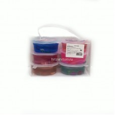 Лизун в прозрачной упаковке 6 шт/уп (арт S197-250A-20) оптом