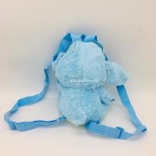 """Мягкая игрушка рюкзак """"Стич"""" меховой 23 см (арт. 182390-5) оптом"""