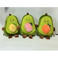 """Мягкая игрушка """"Авокадо с фруктами"""" 20 см оптом"""