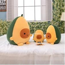"Мягкая игрушка подушка ""Авокадо"" велюр оптом"