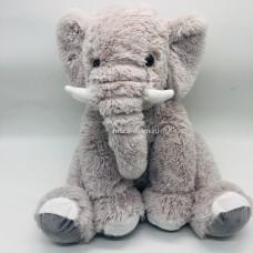 """Мягкая игрушка подушка """"Слон"""" меховой 50 см оптом"""