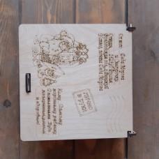 Деревянные подарочные коробки оптом