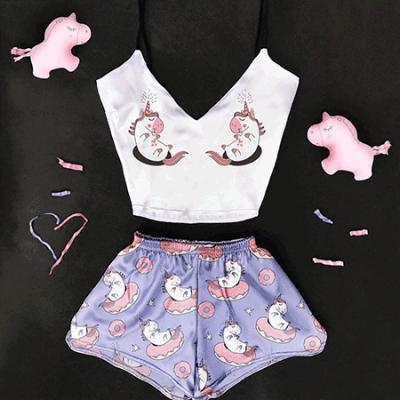 Женская пижама Единорожка оптом