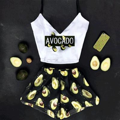 Женская пижама Авокадо оптом