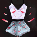 Женская пижама Фламинго оптом