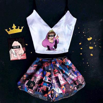 Женская пижама F*ck You (Princess) оптом