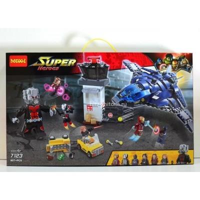 Конструктор Супер герои, 807 дет (арт. 7123) оптом
