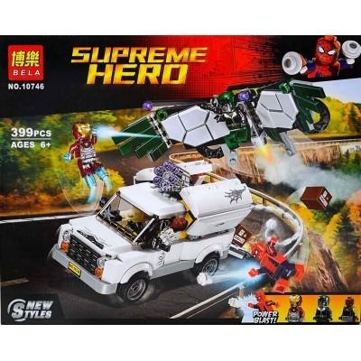 Конструктор Супер герои, 399 дет (арт. 10746) оптом