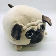 """Мягкая игрушка """"Мопс"""" подушка 35 см (арт. 182381-L-35) оптом"""