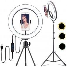 """Кольцевая лампа для фотографов, визажистов 45"""" оптом"""