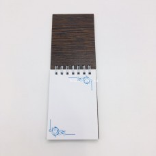 Блокнот с деревянной обложкой размер 11*7 см Бумага в ассортименте оптом