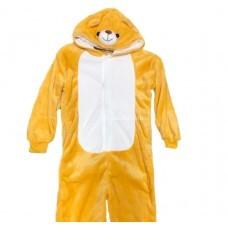 Кигуруми для детей Медведь коричневый 3D оптом
