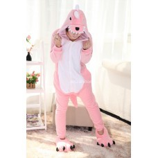 Кигуруми для взрослых Дракон розовый оптом