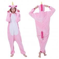 Кигуруми для взрослых Единорог розовый оптом