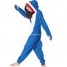 Кигуруми для взрослых Акула оптом