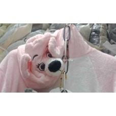 Кигуруми для взрослых Мышь розовая 3D оптом